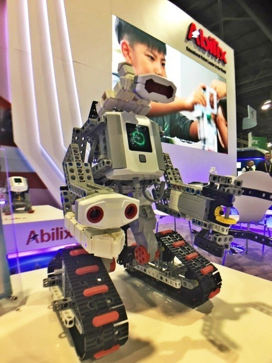 Abilix Educational Robot Brick Krypton 7 (PRNewsFoto/PartnerX)
