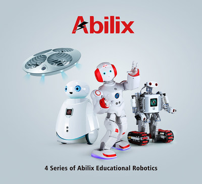 4 series of Abilix educational robotics