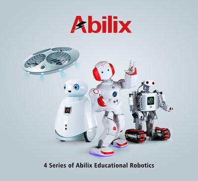 4 series of Abilix educational robotics (PRNewsFoto/PartnerX)