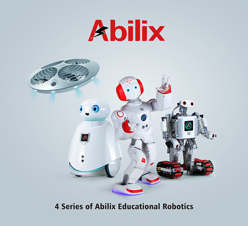 4 series of Abilix educational robotics (PRNewsFoto/PartnerX)