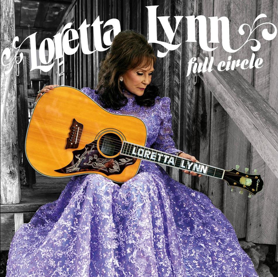 "Loretta Lynn ""Full Circle"" Cover Art"