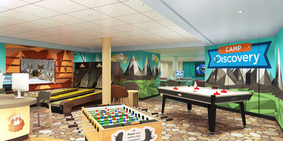Princess Cruises Unveils Newly Reimagined Youth & Teen Centers