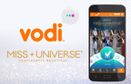 Vodi Announced as Official Global Fan Vote Sponsor of the MISS UNIVERSE? Competition