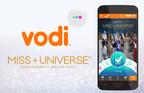 Vodi, Official Global Fan Vote Sponsor for MISS UNIVERSE