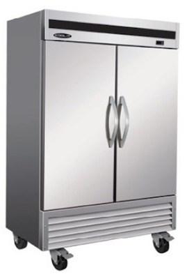 Ikon KB54F 2-Door Stainless Reach-In Freezer