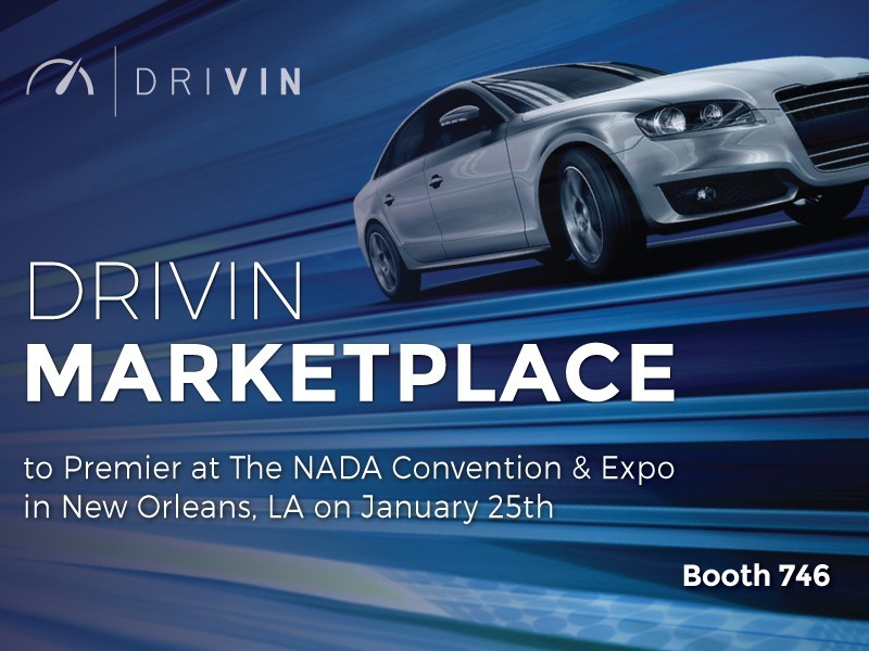 DRIVIN Marketplace. The industry's first intelligent Marketplace where used-car dealers can search, buy and sell the right used-car inventory for their lot.