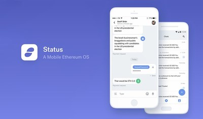 Status.im, an Ethereum Mobile Client Launches in Alpha, Aimed at Early Adopters and Developers