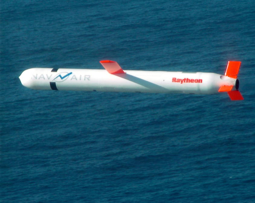 US Navy Raytheon Generate Tomahawk Missile Flight Plans In Real - Raytheon over the us map