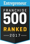 Tint World® Moves up Entrepreneur's Franchise 500® List