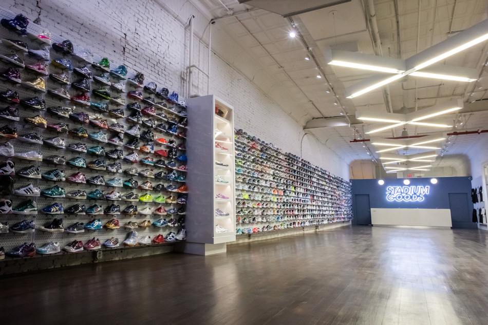 Stadium Goods Soho, 47 Howard Street, New York