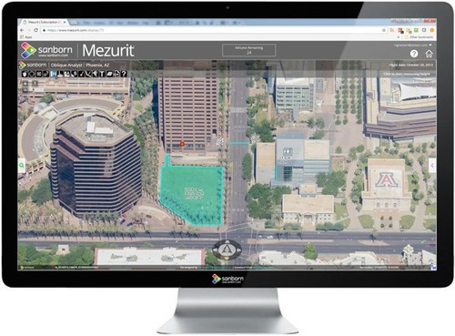 A screen capture showing the Mezurit.com user interface.