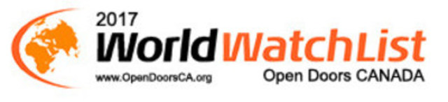 World Watch List 2017 (CNW Group/Open Doors Canada)