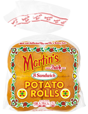 Martin's Famous Sandwich Potato Rolls are the #1 branded hamburger roll in America!