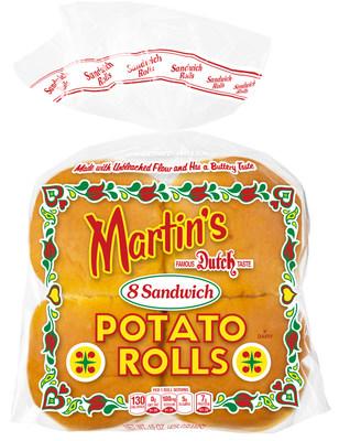Martin's Famous Sandwich Potato Rolls are the #1 branded hamburger roll in America!