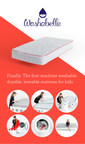 Washabelle Introduces First Washable Memory Foam Mattress For Kids