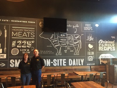 Keith and Tamara Willis open their first Dickey's Barbecue Pit location in New Mexico.