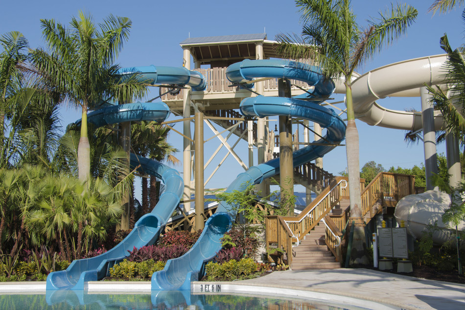 Three new waterslides and a lazy river just opened to resort guests at the Hyatt Regency Coconut Point Resort in Bonita Springs, FL.