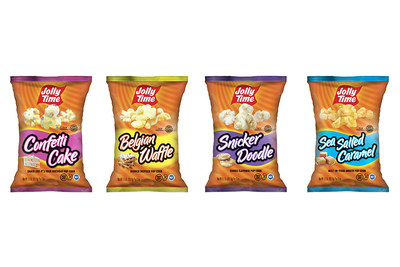 The four new ready-to-eat flavors include Confetti Cake, Belgian Waffle, Snickerdoodle and Sea Salted Caramel.
