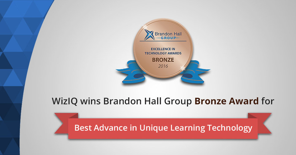 Brandon Hall Creative (PRNewsFoto/WizIQ Inc.)