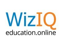 WizIQ logo (PRNewsFoto/WizIQ Inc.)