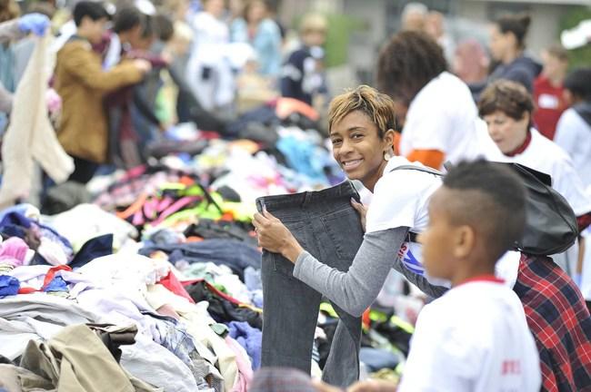 Big Sunday MLK Day Clothing Drive & Community Breakfast in 2016
