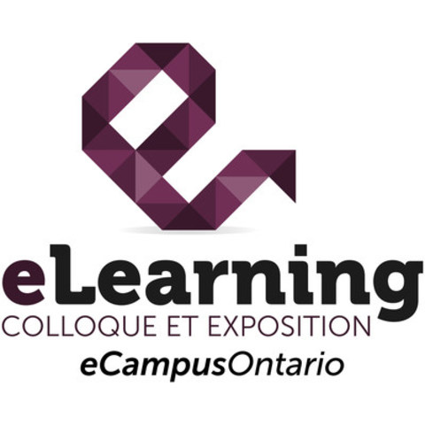 eLearning colloque et exposition (Groupe CNW/eCampusOntario)