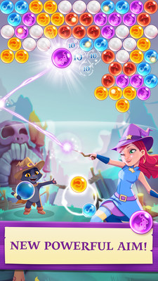 Latest installment in the Bubble Witch franchise released with wide range of new features and challenges