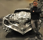 Ioan Florea's Liquid Metal Ford Torino First Ever 3D Printed Car To Cross An Auction Block To Sell At Barrett-Jackson