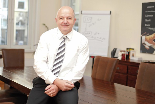 Charles Smethurst, the Chief Executive of Dolphin Trust GmbH who are based in Hanover, Germany