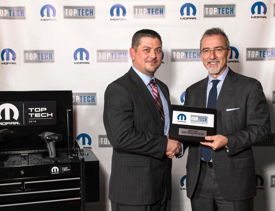 Mopar Honors Top Tech Award Winners - Chrysler dodge jeep ram dealership