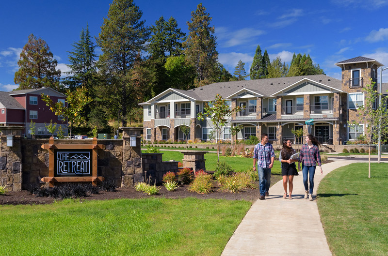 EdR acquired The Retreat at Corvallis near the campus of Oregon State University. This community has a total of 1,016 beds in a wide variety of bedroom configurations.