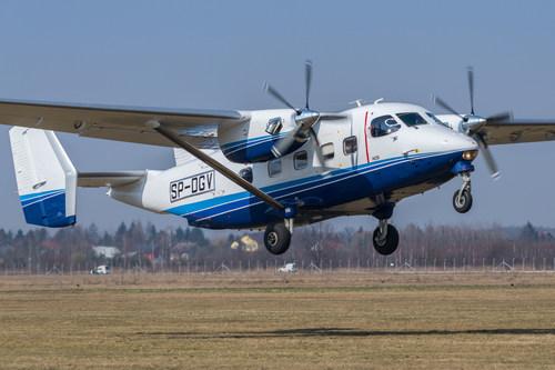 A Sikorsky - PZL Mielec esta planejando um tour do avião de pouso e decolagem curtos M28 pelo Caribe e America Latina para demonstrar sua extraordinaria capacidade de multipo emprego (PRNewsFoto/Sikorsky, a Lockheed Martin Com)