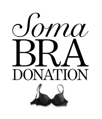 Soma Bra Donation (PRNewsFoto/Soma)