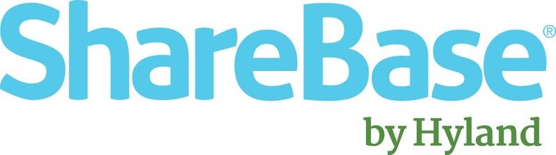 ShareBase by Hyland Logo (PRNewsFoto/Hyland Software, Inc.)