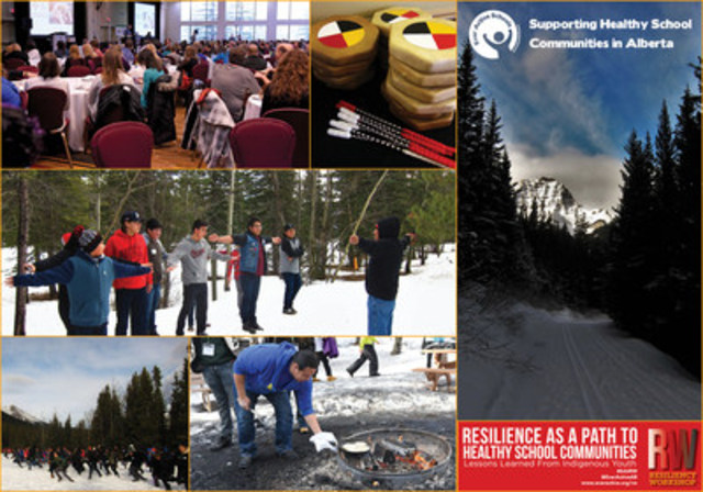 Ever Active Schools is honoured to be hosting Resilience as a Path to Healthy School Communities: Lessons Learned from Indigenous Teachings in the beautiful Alberta Rockies. Share. Learn. Grow. (CNW Group/Ever Active Schools)