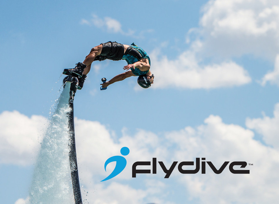 FlyDive, creator of the easy-to-learn X-Board, continues to soar with acquisition of leading Hydroflight industry properties. (PRNewsFoto/FlyDive)