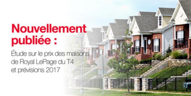 Moins de disparités régionales en vue dans le marché immobilier canadien (Groupe CNW/Services immobiliers Royal LePage)