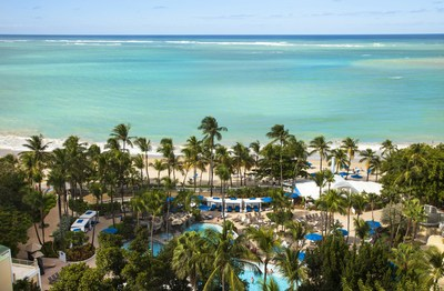 The Puerto Rico Tourism Company Invites Travelers to Keep their Travel Resolutions and Experience the Island (Photo Credit: Intercontinental San Juan) (PRNewsFoto/Puerto Rico Tourism Company)