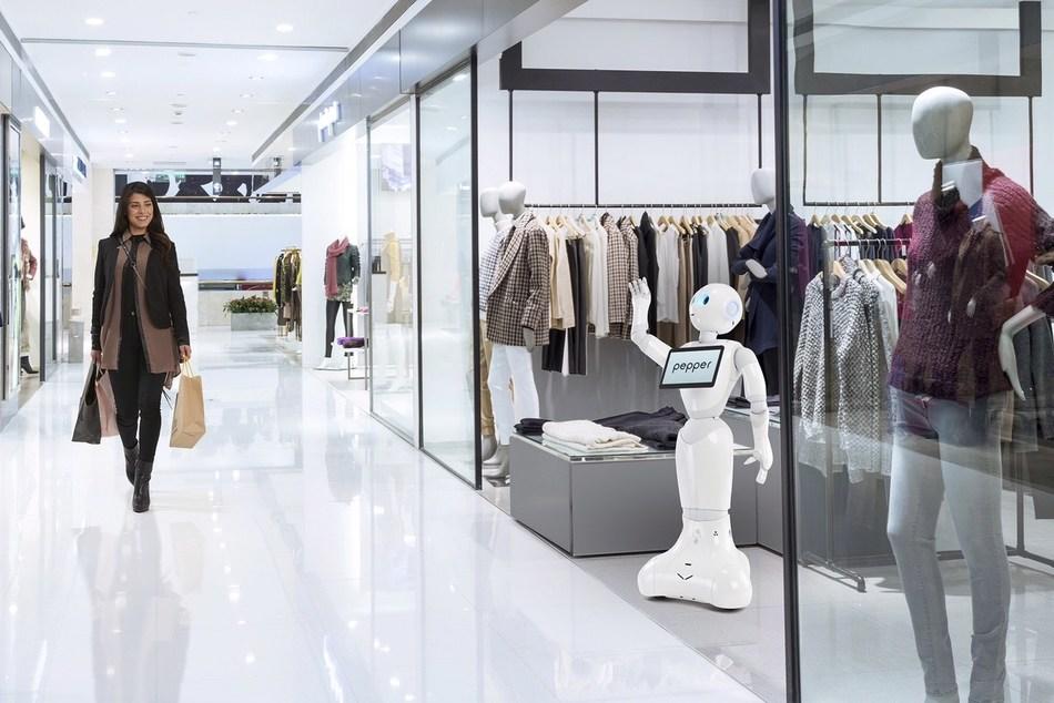 Pepper the humanoid robot was developed by SoftBank Robotics