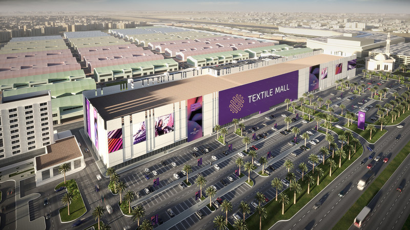 Textile Mall, located in Dubai, is the first free zone mall of its kind in the world and is designed for the textile, apparel, gold and jewelry industry. (PRNewsFoto/Textile Mall)