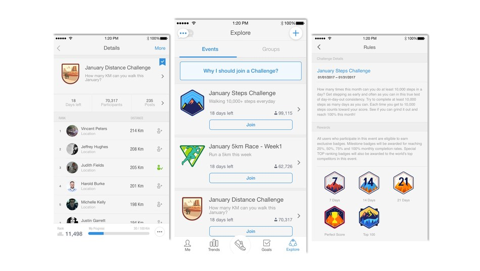 Pacer, the world's most downloaded daily activity tracking app for iOS and Android.