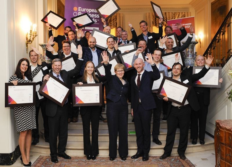 Benelux National Champions (PRNewsFoto/European Business Awards and RSM)