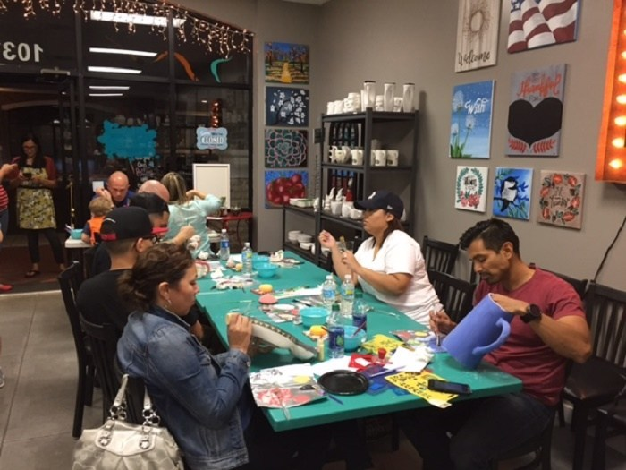 Warriors and families connect to create unexpected masterpieces.