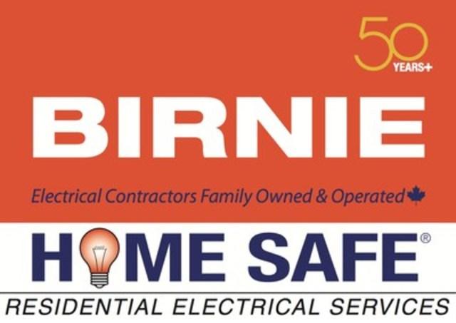 Birnie Home Safe logo (CNW Group/Birnie Electric Ltd.)