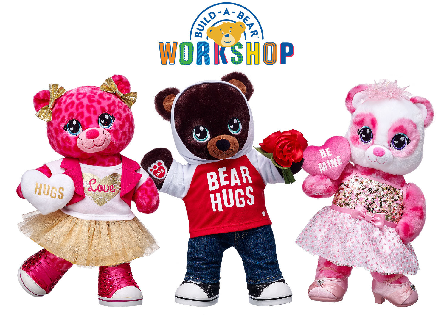 Share Your Heart This Valentine S Day With Personalized Gifts From Build A Bear Workshop