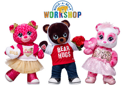 Share Your Heart This Valentineu0027s Day With Personalized Gifts From Build A  Bear Workshop