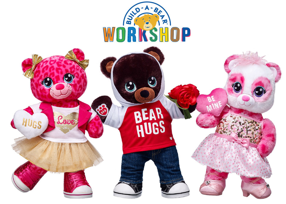 The new Sweet Scent Collection from Build-A-Bear Workshop(R) includes three candy-scented Make-Your-Own furry friends--Sweet Scent Leopard, Sweet Scent Teddy and Sweet Scent Panda--and an array of sweet outfits and accessories for Valentine's Day.
