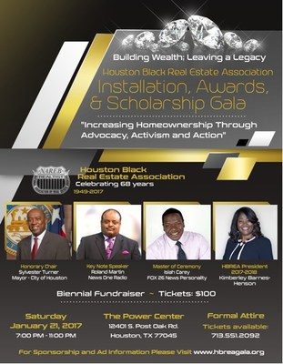 Houston Black Real Estate Association Installation, Awards, And Scholarship Gala
