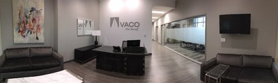 Entrance at Vaco Louisville's new office space.