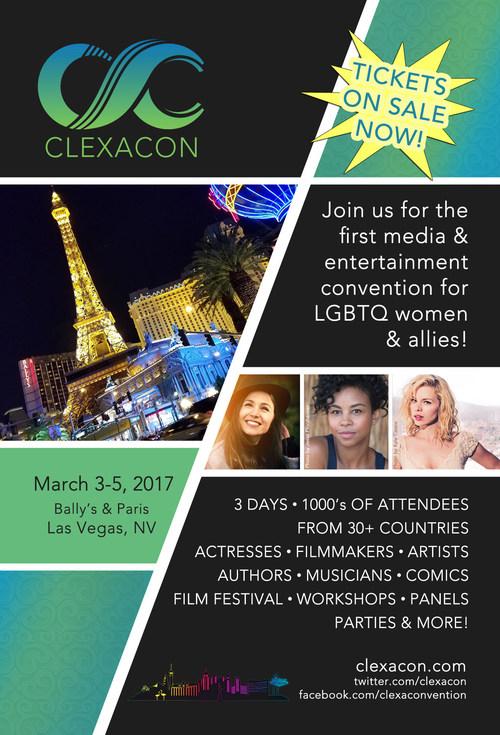 March 3-5, 2017. www.clexacon.com.